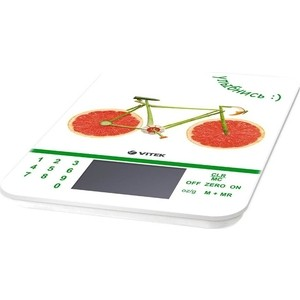 Кухонные весы Vitek VT-2413(W) весы кухонные vitek vt 2418 01 белый