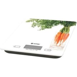 Кухонные весы Vitek VT-2418(W) весы кухонные vitek vt 2418 01 белый