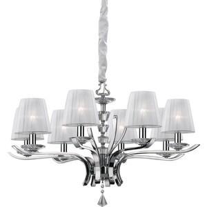 Подвесная люстра Ideal Lux PEGASO SP8 BIANCO ideal lux люстра ideal lux lilly sp5 bianco