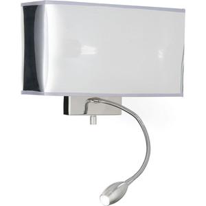 Настенный светильник Ideal Lux Hotel AP2 Cromo настенный светильник ideal lux strale ap1 cromo 013206