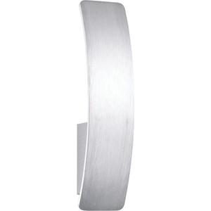 Настенный светодиодный светильник Ideal Lux Vela AP1 Alluminio настенный светильник ideal lux vela ap1 bianco