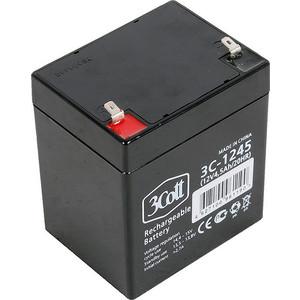 Батарея 3Cott 3C-1245-5S 12В 4.5Ah аккумуляторная батарея для ибп 3cott 3c 12120 5s 3c 12120 5s