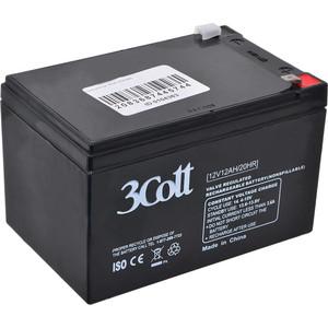 Батарея 3Cott 3C-12120-5S 12В 12Ah батарея 3cott 12v 12ah rt12120 12v12ah 2ohr