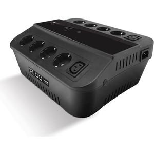 ИБП 3Cott 3C-500-SPB 500VA graffiti find something game pattern protective pvc back case for iphone 4 4s grey black
