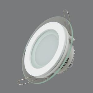Фотография товара встраиваемый светодиодный светильник Elvan VLS-705R-6W-WW (640887)