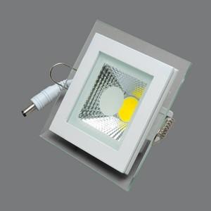 Встраиваемый светодиодный светильник Elvan VLS-703SQ-6W-WW