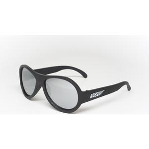 Babiators С/з очки Aces Aviator. Чёрный спецназ (Black Ops). Зеркальные линзы (6+). Арт. ACE-001 pocket aces