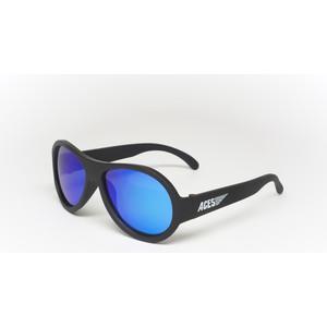 Babiators С/з очки Aces Aviator. Чёрный спецназ (Black Ops). Синие линзы (6+). Арт. ACE-002 детские солнцезащитные очки babiators aces navigators чёрный спецназ black ops синие линзы 6