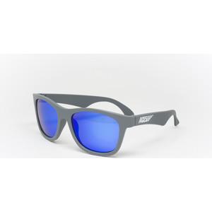 Babiators С/з очки Aces Navigator. Галактический серый (Galactic Grey). Синие линзы (6+). Арт. ACE-012 pocket aces