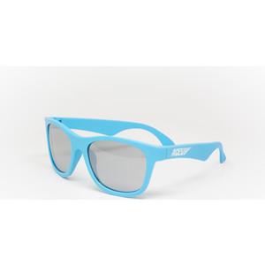 Babiators С/з очки Aces Navigator. Электрический голубой (Electric Blue). Зеркальные линзы (6+). Арт. ACE-013 pocket aces