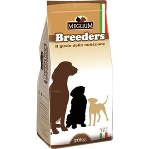 Сухой корм MEGLIUM Natural Meal Dog Adult Breeders для взрослых собак 20кг (MS0120)  meglium natural meal dog adult для взрослых собак 15кг ms0115