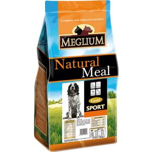Сухой корм MEGLIUM Natural Meal Dog Adult Sport Gold для активных собак 15кг (MS2615) дезсредства в г чите