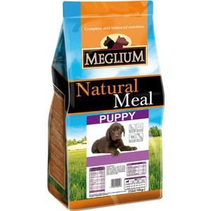 Сухой корм MEGLIUM Natural Meal Dog Puppy для щенков 15кг (MS1715) г мурманск отдам щенков в добрые руки авито