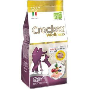 Сухой корм Crockex Wellness Adult Mini Rabbit Meat & Vegetables & Fructs с кроликом и рисом для собак мелких пород 2кг (MCF2902)