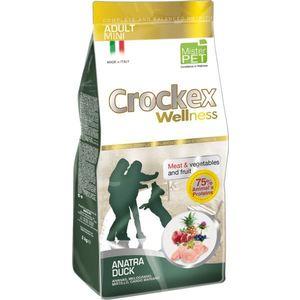 Сухой корм Crockex Wellness Adult Mini Duck Meat & Vegetables & Fructs с уткой и рисом для собак мелких пород 2кг (MCF2802)
