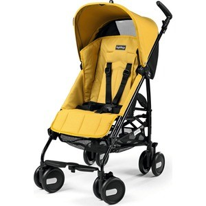 Коляска прогулочная Peg-Perego Pliko Mini, цвет Mod yellow (Желтый), Италия