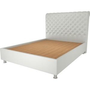 Кровать OrthoSleep Симона жесткое основание белый 80х200
