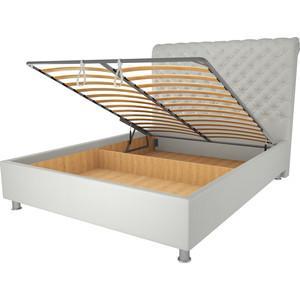 Кровать OrthoSleep Симона механизм и ящик белый 120х200