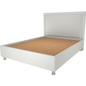 Кровать OrthoSleep Нью Йорк жесткое основание белый 90х200 кровать orthosleep нью йорк бисквит жесткое основание 90х200 page 5