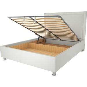 Кровать OrthoSleep Кьянти механизм и ящик белый 90х200