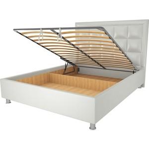 Кровать OrthoSleep Альба механизм и ящик белый 120х200