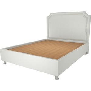 Кровать OrthoSleep Федерика жесткое основание белый 200х200 шатура кровать gretta 200х200