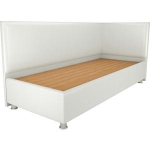 Кровать OrthoSleep Бибионе Лайт жесткое основание белый 90х200 кровать orthosleep бибионе лайт жесткое основание сонтекс беж 90х200