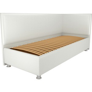 Кровать OrthoSleep Бибионе Лайт ортопед. основание белый 140х200