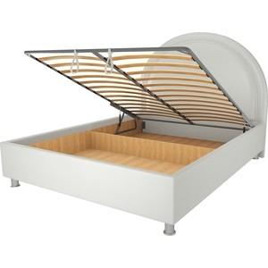 Кровать OrthoSleep Аляска механизм и ящик белый 180х200