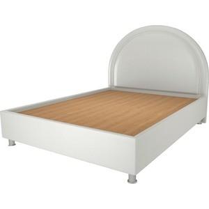 Кровать OrthoSleep Градо жесткое основание белый 140х200