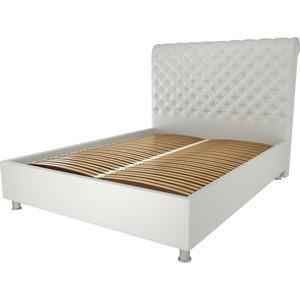 Кровать OrthoSleep Верона жесткое основание белый 140х200
