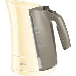 Чайник электрический Braun WK 300 кремовый цена и фото