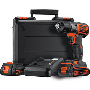 Шуруповерт Black-Decker ASD14KB электроинструмент black decker kr1102k