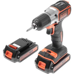 Шуруповерт Black-Decker ASD18KB электроинструмент black decker kr1102k