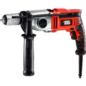 Дрель ударная Black-Decker KR1102K нож black decker bdht0 10235