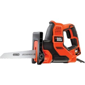 Сабельная пила Black-Decker RS890K электроинструмент black decker kr1102k