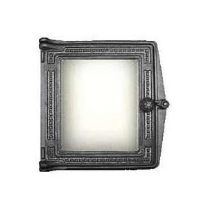 Дверца каминная Балезино ДТ-4 со стеклом цены онлайн