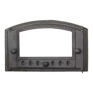 Дверца каминная Балезино ДТК со стеклом дверка каминная дтк со стеклом