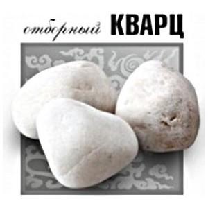 Камень Огненный камень Кварц 10 кг (отборный обваленный)