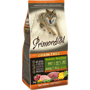 Сухой корм Primordial Grain Free Holistic Dog Adult All Breed with Deer & Turkey беззерновой с олениной и индейкой для собак всех пород 2кг (MSP5602) x96 italy iptv germany iptv box with android box 6 0 4k amlogic smart tv 3000 albania french turkey uk adult set top box