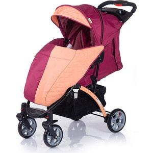 Коляска прогулочная BabyHit Tetra Бордово-оранжевая babyhit babyhit ходунки first step зеленые