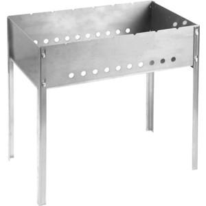 Мангал Grinda barbecue 427784 , нержавеющая сталь, толщина 1,5мм, 500х300х500мм коптильня grinda barbecue 427790