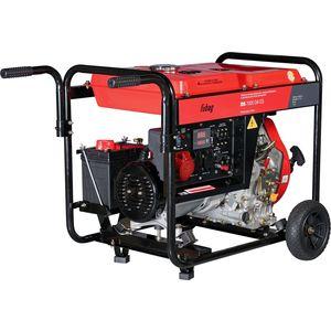 Генератор дизельный Fubag DS 7000 DA ES дизельный генератор тсс ад 20с т400 1рм10 6419