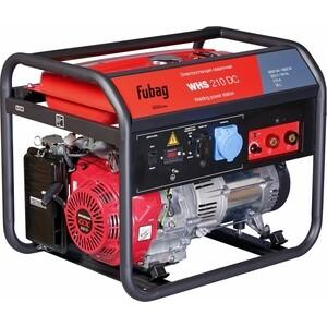 Генератор бензиновый сварочный Fubag WHS 210 DC инвертор сварочный fubag intig 200 dc pulse