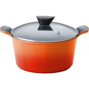Кастрюля 26 см Frybest Orange (ORCA-D26 Orange) orange cr120h