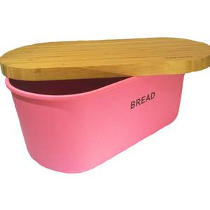 Хлебница бамбуковая с разделочной доской Frybest Bamboo (BM-01-2) контейнер для сыра frybest bamboo цвет розовый bm 02 2