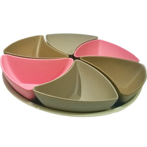 Сет сервировочный 7 предметов Frybest Bamboo (BM-03-2) контейнер для сыра frybest bamboo цвет розовый bm 02 2