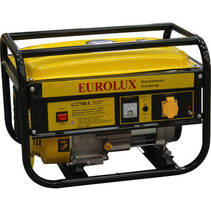 Генератор бензиновый Eurolux G2700A генератор бензиновый wert g 3000d