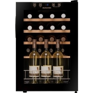 Винный шкаф Dunavox DX-20.62KF винный шкаф dunavox dx 57 146dsk