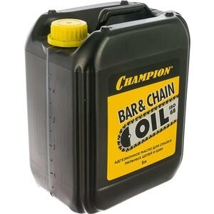 Масло для смазки цепи Champion 5л (952828) масло echo д смазки цепи и шины premium 0 95л 6459013